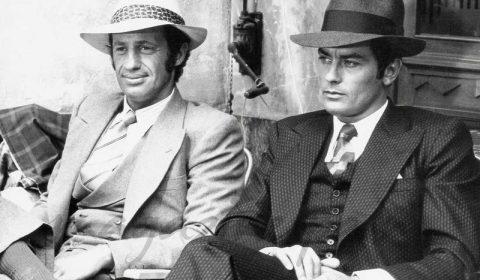 Alain Delon und Belmondo mit Borsalino