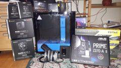 Der neue Desktop PC für Steam Twitch & Co. in Einzelteilen