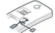 Nokia 8110 4g Rueckseite offen